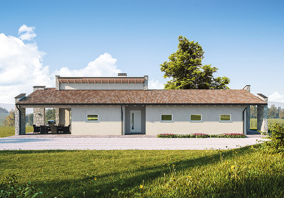 Lignius wolf haus case in legno ayana for Casa classica toscana srl