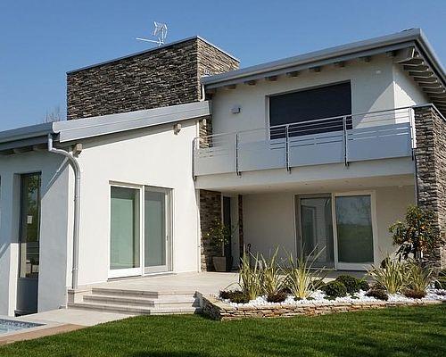 Ille prefabbricati costruttore case in legno lignius for Colori per casa moderna