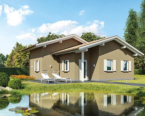 Lignius le migliori case in legno for Casa classica pesaro