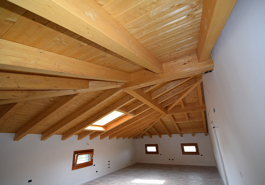 Lignius casa natura srl case in legno casa trifamiliare for Casa classica srl