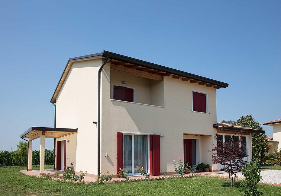 Lignius casa natura srl case in legno casa unifamiliare for Casa classica toscana srl