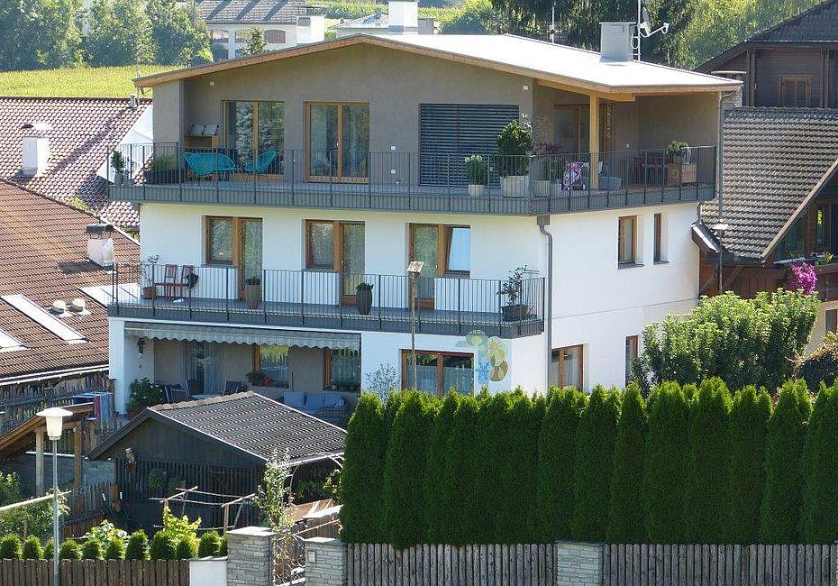 S dtirolhaus case in legno ampliamento sopraelevazione lignius - Ampliamento casa in legno ...