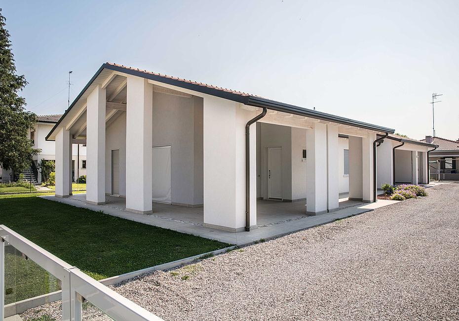 Lignius casa natura srl case in legno casa unifamiliare for Casa classica srl