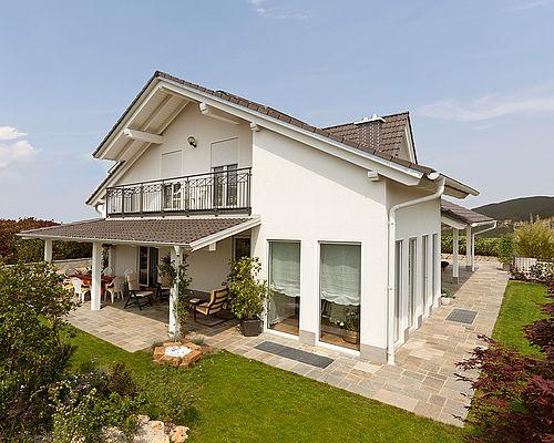 Spazio positivo costruttore case in legno lignius for Casa moderna ristrutturata
