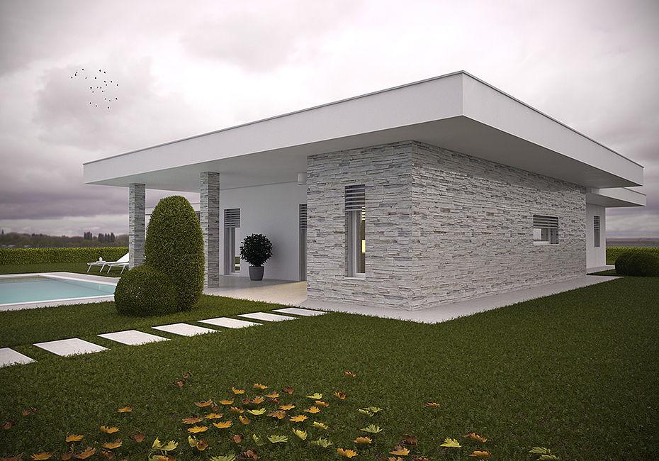 Lignius costruire bio case in legno villa mantova for Costruire bio case prefabbricate in legno