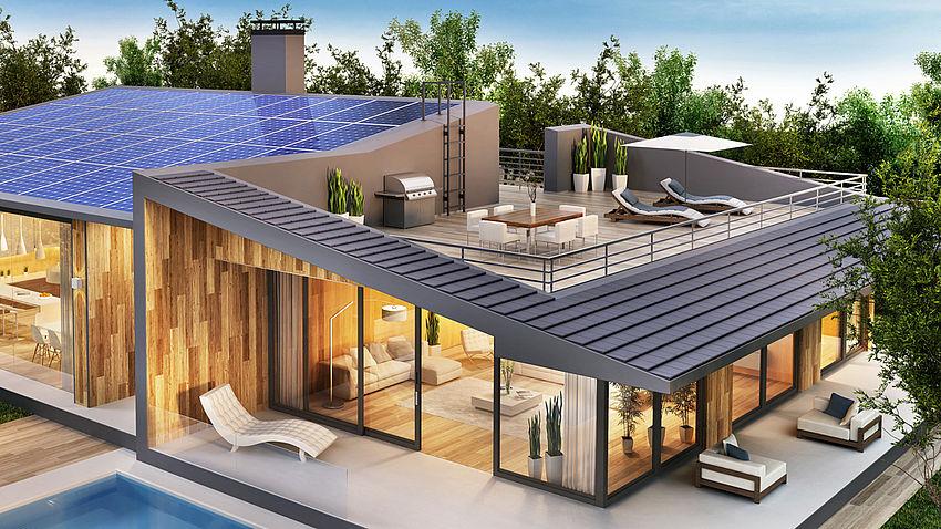 terrazza su tetto