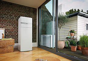 Vaillant - aroTHERM + uniTOWER
