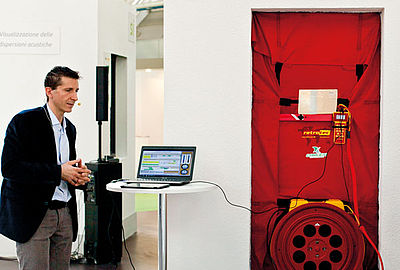 Prova termografica e blower door test