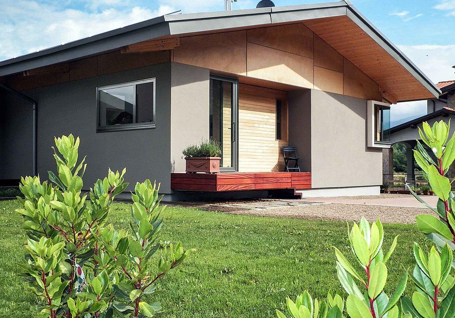Lignius arlgroup case in legno villa in stile moderno for Case in stile moderno