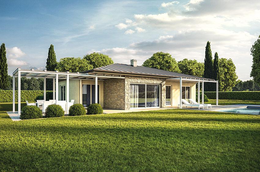 Progetti di case moderne piccole interni case moderne for Modelli di case piccole