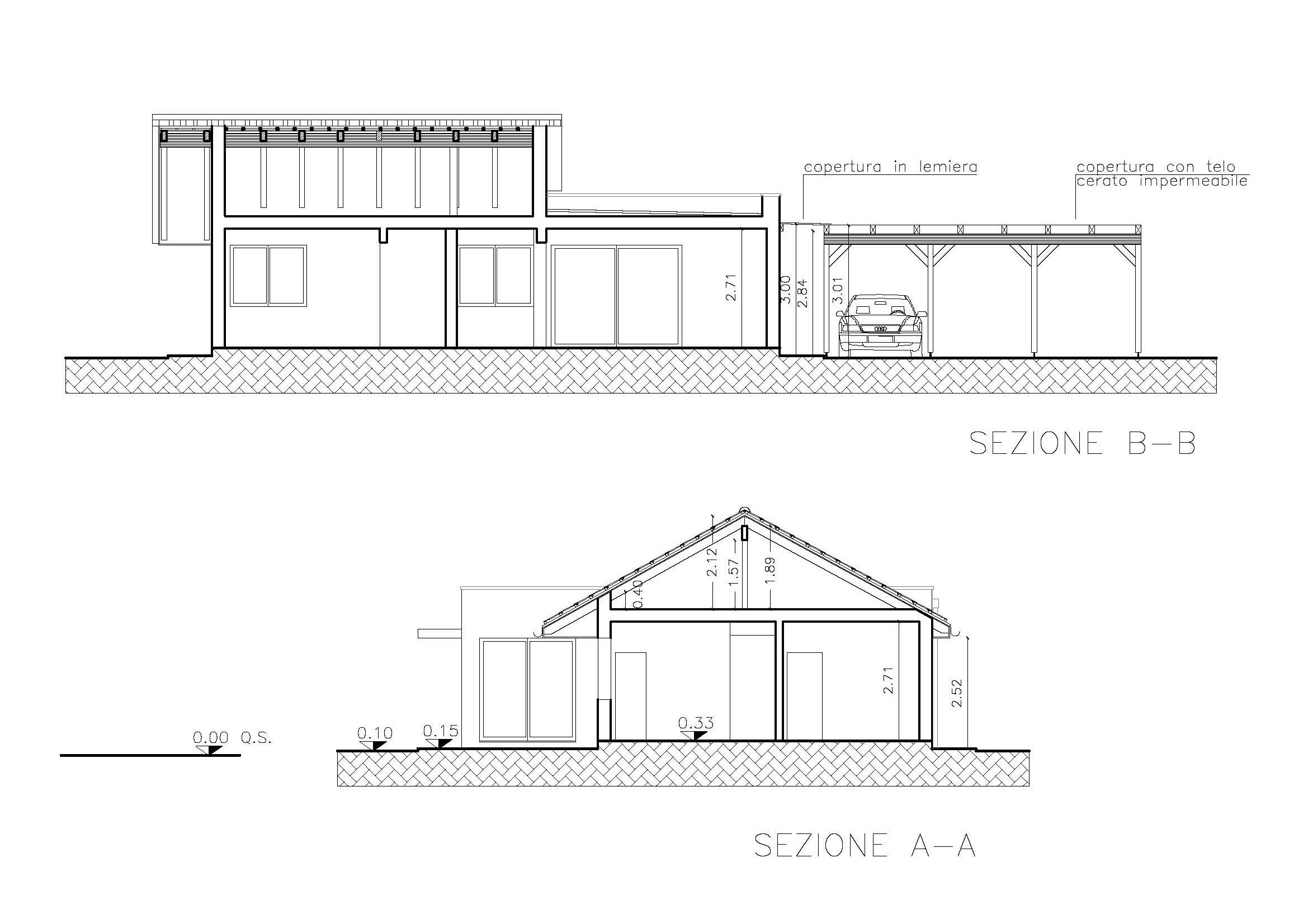 Progetto casa unifamiliare geometra ugo guidi lignius - Progetto completo casa unifamiliare ...