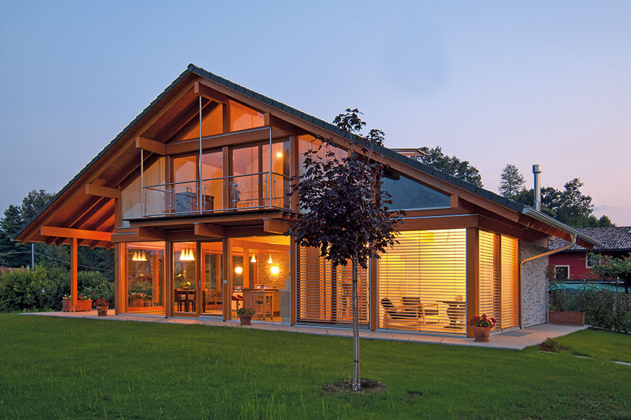 Casa in legno come sceglierla lignius associazione for Rubner prezzi