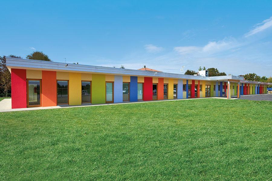 Scuola prefabbricata costi terminali antivento per stufe for Costo case prefabbricate
