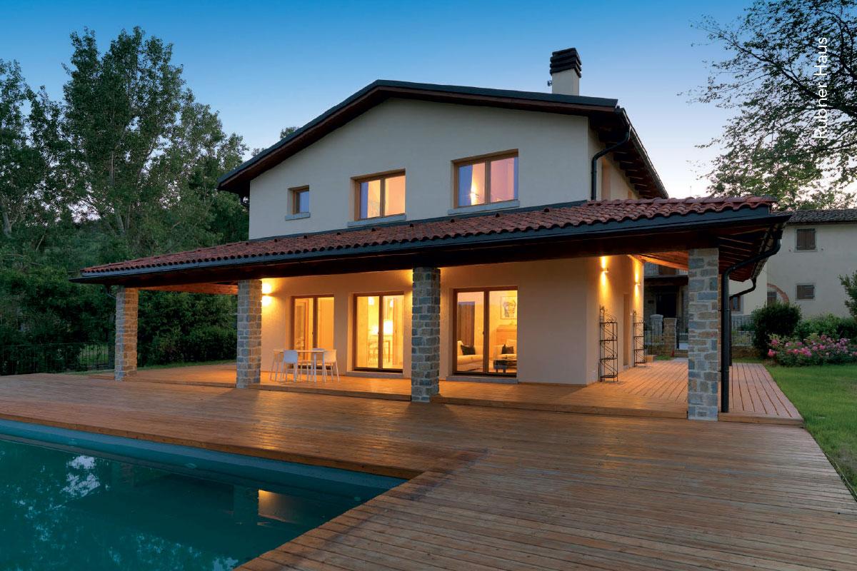 Rubner haus lignius associazione nazionale italiana for Foto di case