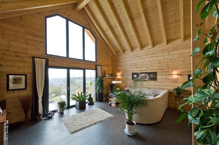 Articolo lignius associazione nazionale italiana case for Case in legno interni