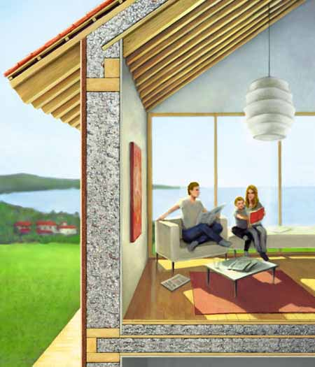 Il legno e l 39 inquinamento acustico lignius for Isolamento termico pareti interne